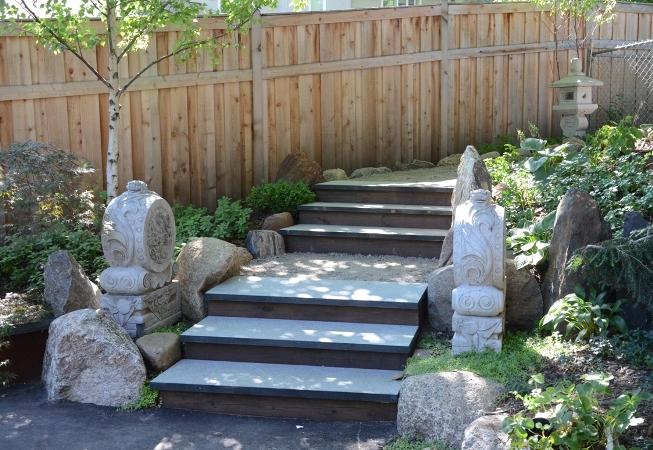 Minnesota landscape design company niwa design studio for Japanese garden entrance
