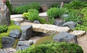japanese garden bridge stone - Japanese Garden Bridge Design