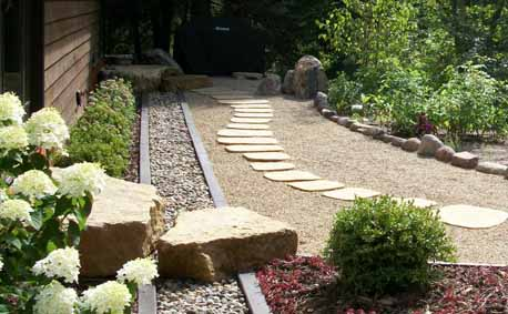 Japanese Garden Stones Minnesota landscape design company niwa design studio ltd stone path and shoe stones workwithnaturefo